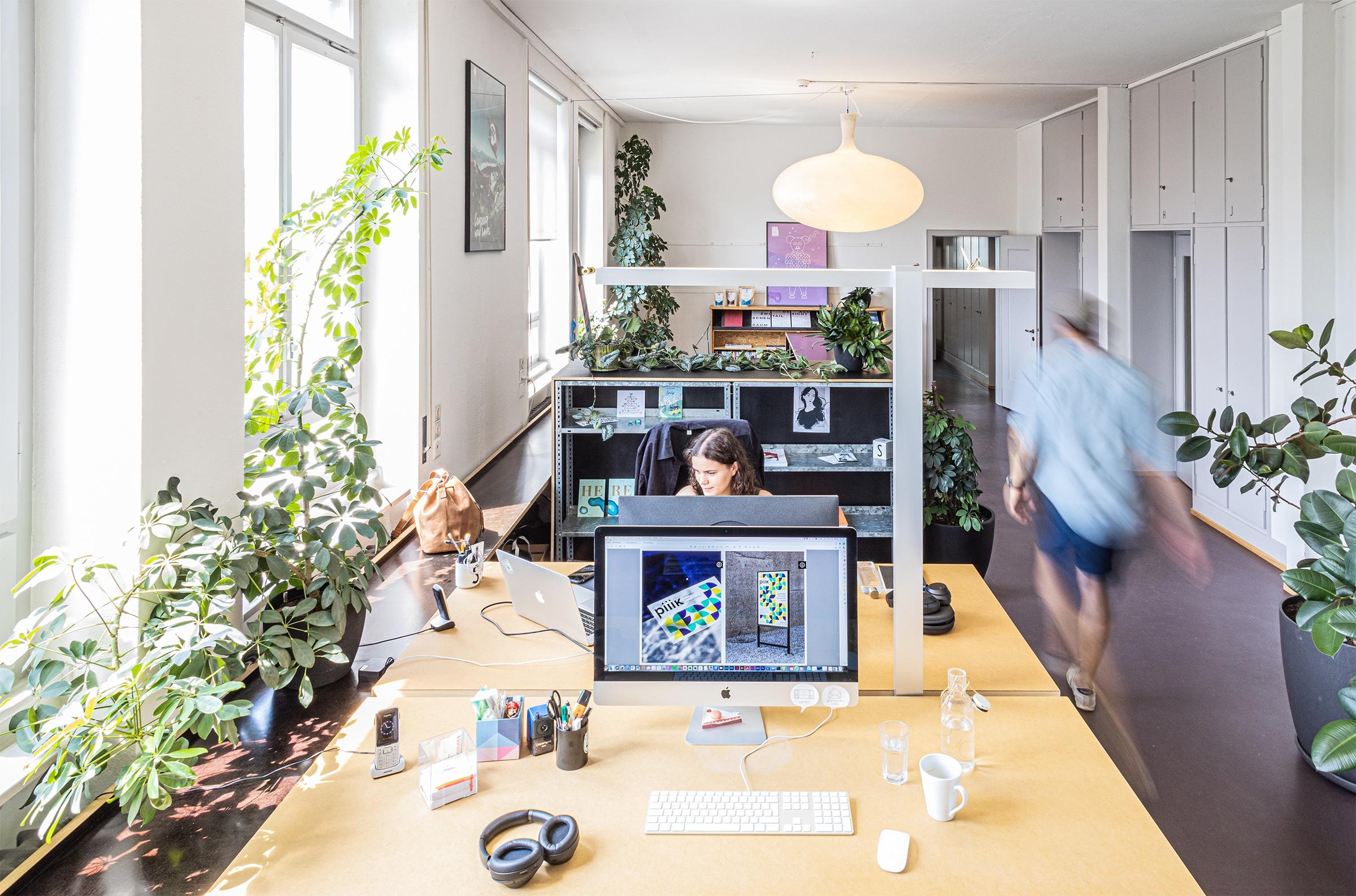 Das Büro der Komplizen mit Arbeitsplätzen in Emmenbrücke